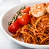 Garlic Butter Tomato Shrimp Linguine