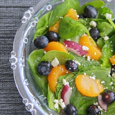 Spinach and Fruit Salad