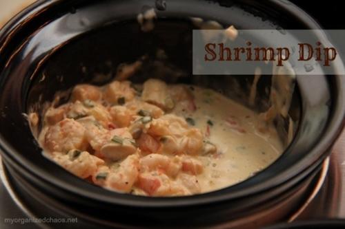 Hot Shrimp Dip Appetizer