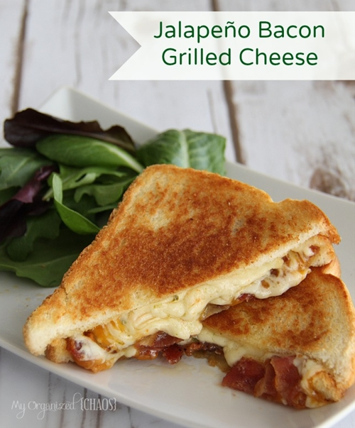 Jalapeño Bacon Grilled Cheese Sandwich