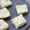 Vanilla Cream Bars