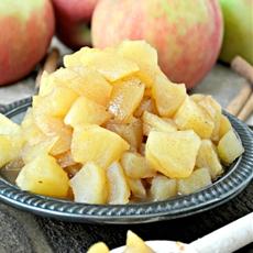 Pumpkin Pie Spiced Apple Compote