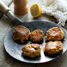 Crab and Prawn Cakes