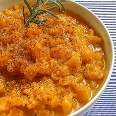 BUTTERNUT SQUASH COMPOTE sweet and sour