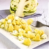 CAULIFLOWER SALAD with feta cheese
