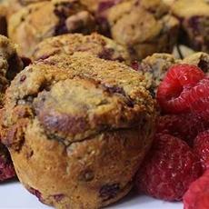 Pumpkin Raspberry Muffins