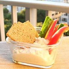 Healthy Homemade Oat & Rye Crackers