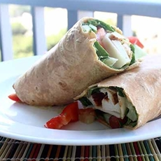 Chicken & Veggie Wrap