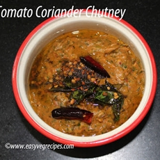 Tomato Green Chillies Chutney