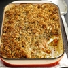 Tasty White Fish Crumble Casserole