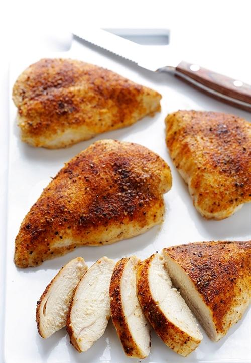 Easy Gluten Free Baked Chicken Breasts