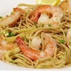 Lemon Noodle Pasta with Shrimp