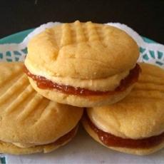 Orange Custard Cookies
