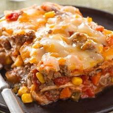 Best Layered Burrito Bake