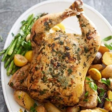 Tasty Herbed Chicken and Vegetables