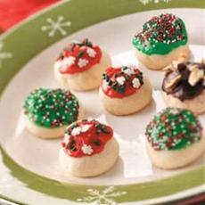 Sweet Cherry Bon Bon Cookies