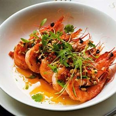 Chilli Tiger Prawns