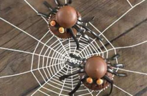 Annabel Karmels Chocolate Spider Cakes