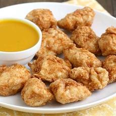 Turkey Nuggets with Honey Mustard