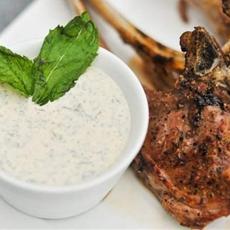 Lamb With Yogurt Mint Sauce