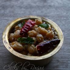 Chick peas Sundal
