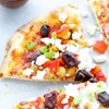 Mediterranean Pizza With Feta Cheese