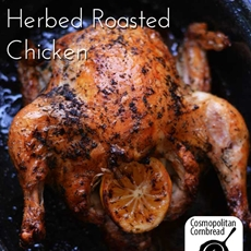 Lemon and Garlic Herbed Roasted Chicken