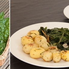 Sauteed Mediterranean Greens • The Greedy Vegan