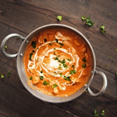 Healthier Butter Chicken