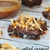Salted Caramel SNACK ATTACK Brownies