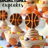 REESES Peanut Butter Basketball Cupcakes