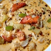 Beaucoup seafood chowder