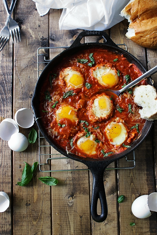 Eggs in Hell (Shakshuka)