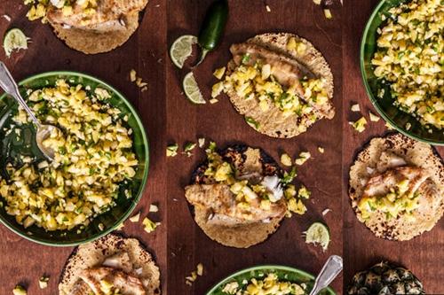 Pan-Fried Tilapia Tacos