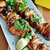 Siracha, honey, Lime Chicken Skewers