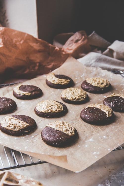 Moon Phase Molasses Cookies