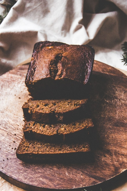 Spiced Brown Butter Banana Bread
