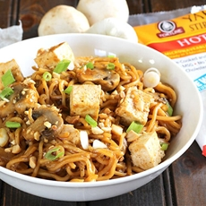 BLACK PEPPER STIR FRIED NOODLES