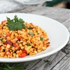 Grilled Corn and Peach Salsa