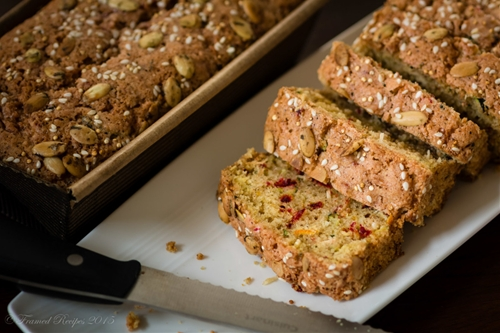 Zucchini Beet Bread