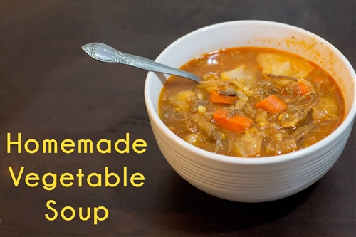 A Blog by Two Bffs: Homemade Vegetable Soup!