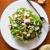 Arugula and Blueberry Salad with Lemon Poppyseed Vinaigrette