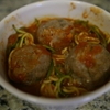 Turkey Meatballs and Zoodles