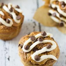 Cinnamon Swirl Chocolate Chip Muffins
