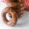 Glazed Cinnamon Doughnuts