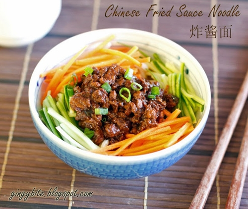 Chinese Fried Sauce Noodle