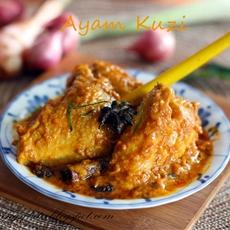 Ayam Kuzi / Kelantan Style Chicken Curry