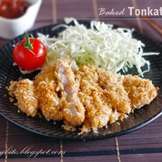 Baked Tonkatsu
