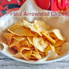 Fried Arrowhead Chips / Ngaku / Ciku ????
