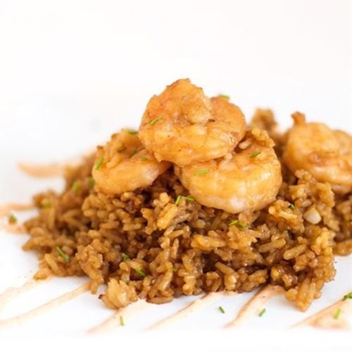 One-Skillet Shrimp Hibachi